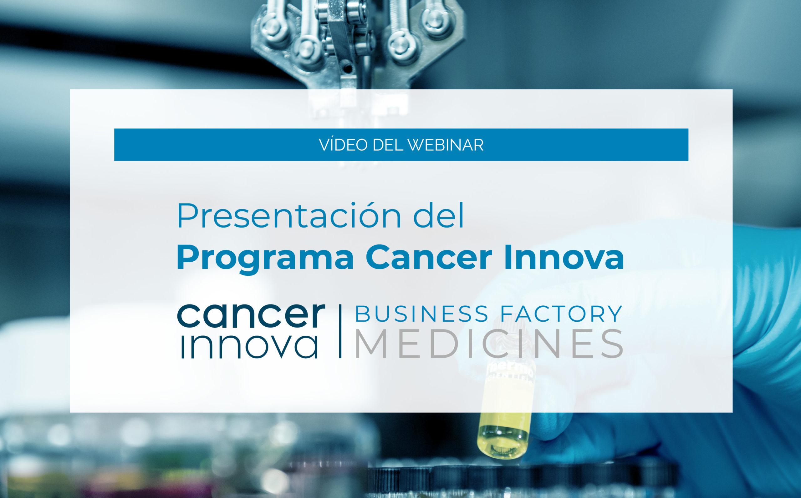 webinar cancer innova